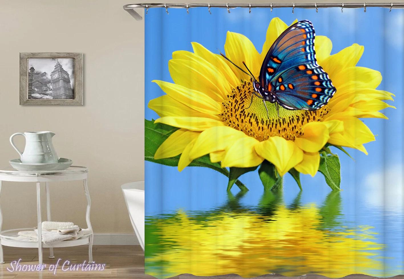 Sunflower Ft Butterfly