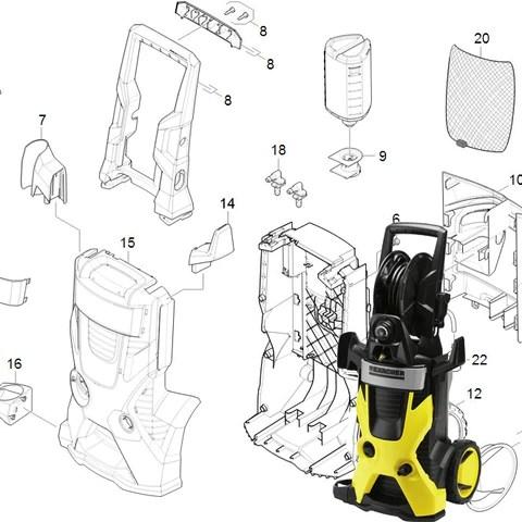 Spare Parts Karcher Repairs