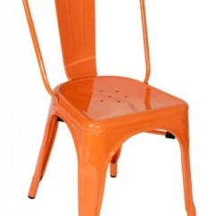 Orange Side Chair Bernhardt Pascal Modrest Elan Modern Metal Chairs All World Furniture