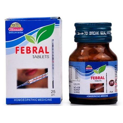 Wheezal Febral Tablets Homeopathic Medicine for All Types ...