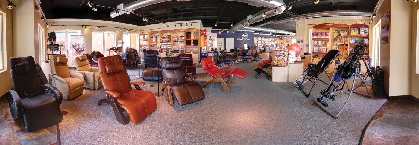 massage chair store kids round table and chairs pain relief products furniture wellness solutions relax the back panoramic shot of a relaxtheback local