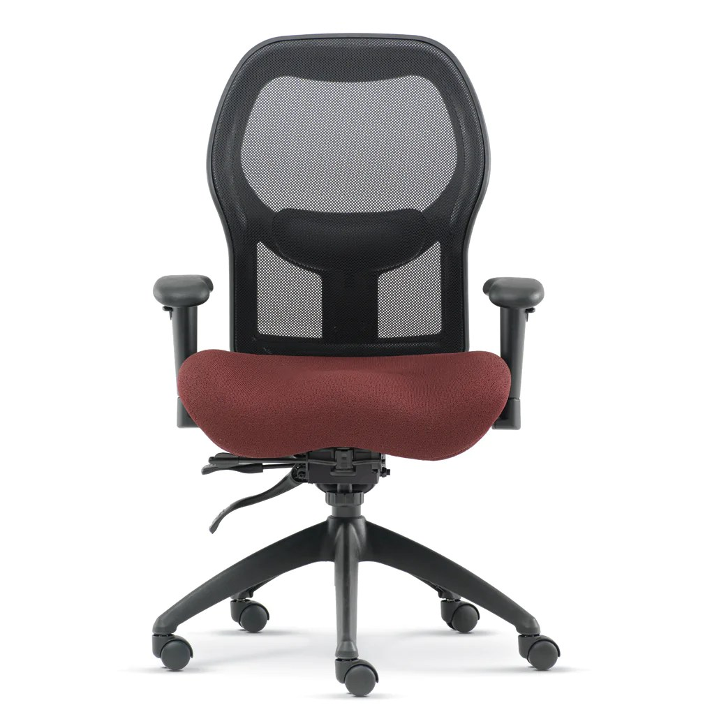 Office Chair Posture Brezza Ergonomic Mesh Office Chair