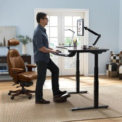 Chairs For Standing Desks Folding At Costco Shop Ergonomic Office Furniture Relax The Back Adaptdesk Adjustable Desk