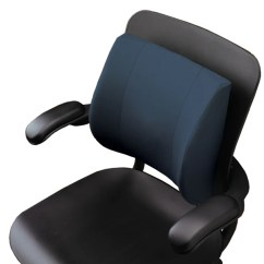 Back Pillow For Office Chair Power Lift Rental Shop Ergonomic Supports Pillows Cushions Relax The Contour Lumbar Cushion