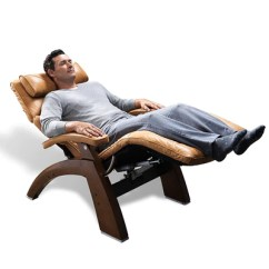 Relax Your Back Chair Reclining And Ottoman Human Touch Omni Motion Perfect The Man Reclined In