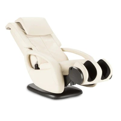 back massage chair walmart folding chairs outdoor human touch wholebody 7 1 relax the side view product image of in bone color