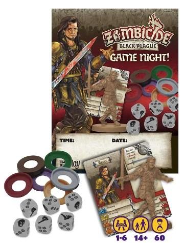 Board Games Zombicide Zombicide Black Plague Game