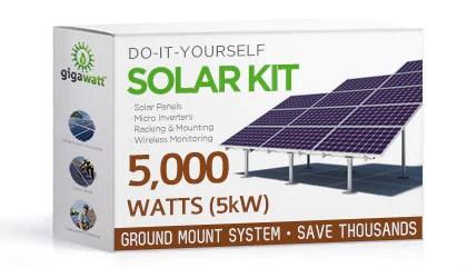 10kw Grid Tie Solar Wiring Diagram 5kw Ground Mount Solar Kit 5000 Watt Solar Pv System