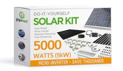 10kw Grid Tie Solar Wiring Diagram 5kw Solar Panel Installation Kit 5000 Watt Solar Pv