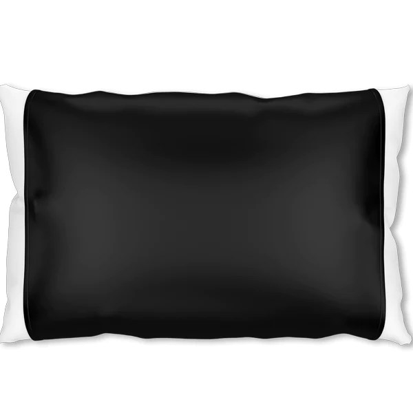 new black silk pillow sleeve by silked