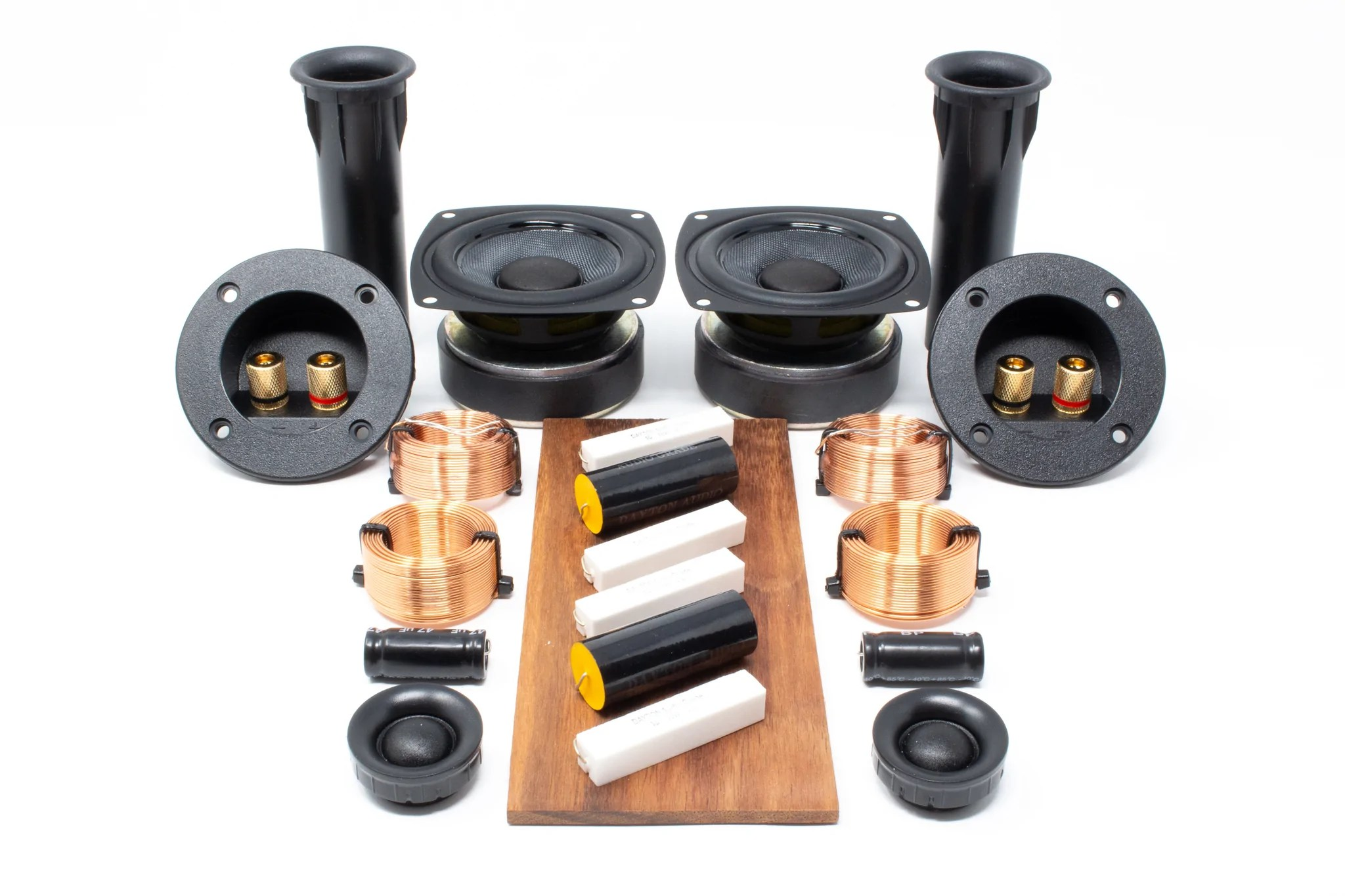 medium resolution of  fremont bookshelf speaker diy build kit