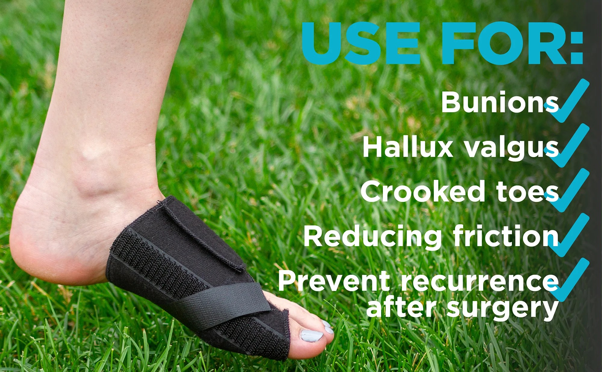 small resolution of use this bunion splint to correct hallux valgus and crooked toes