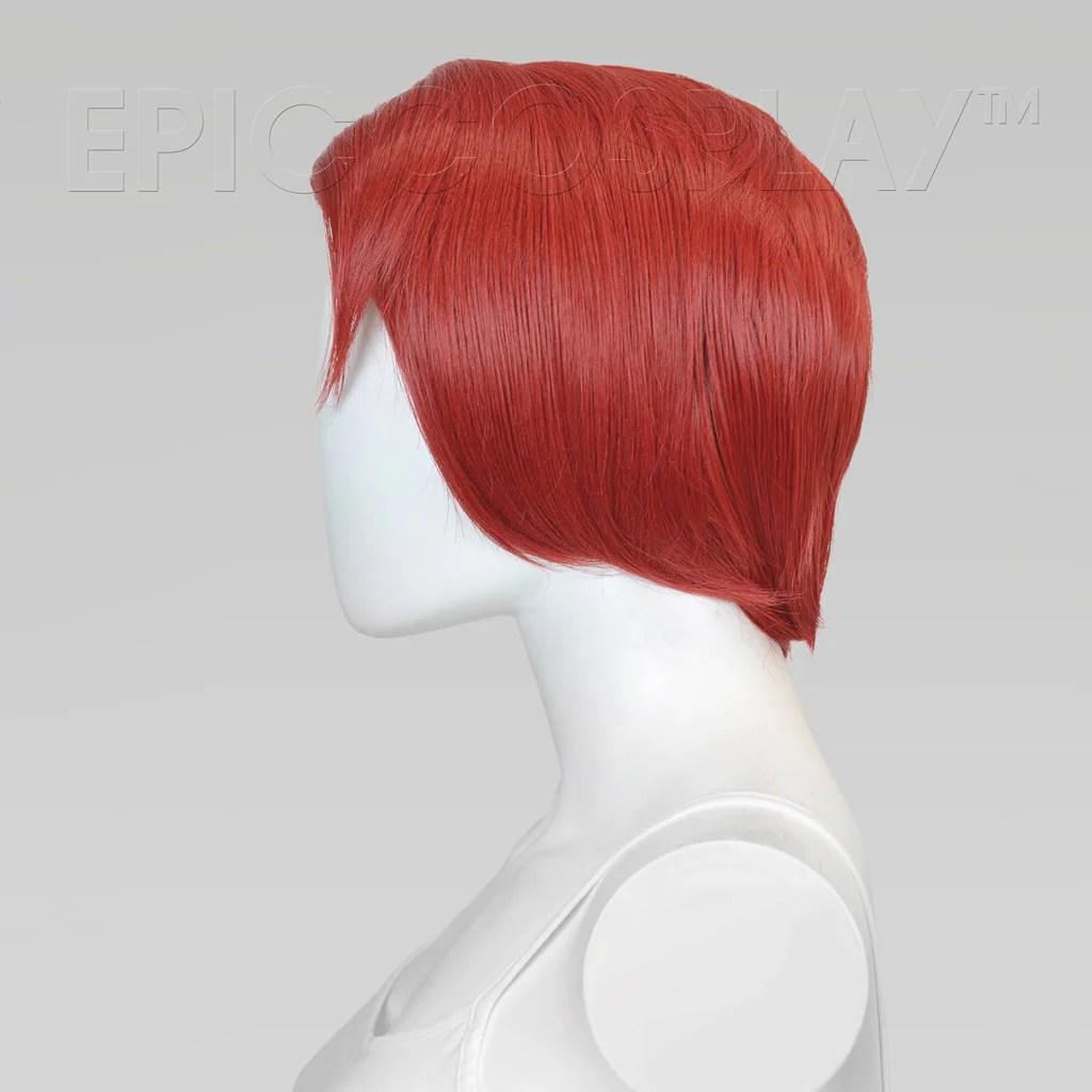 Atlas 14 Inch Apple Red Multi Part Short Cosplay Wig