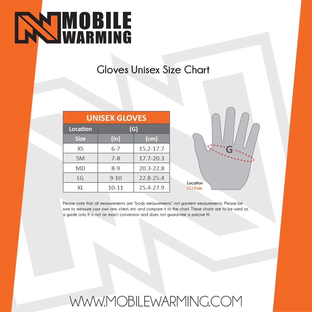 hight resolution of heated glove liner