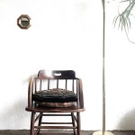 Vintage Brass Torchiere Floor Lamp Maven Collective