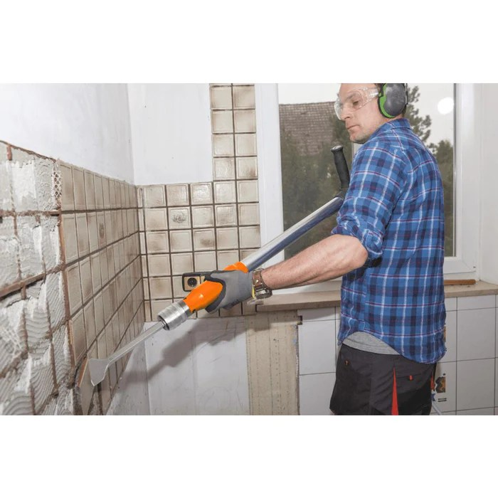 wen 61635 5 in 1 pneumatic multi function tool with scraper shovel and chisel attachments