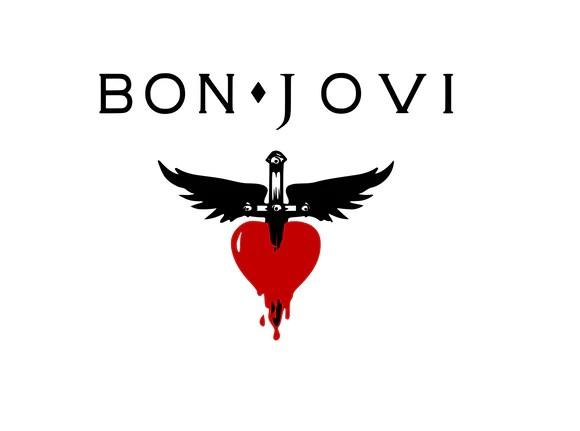 bonjovi logo digital dxf
