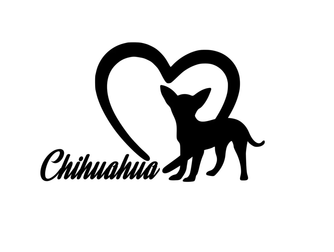 Download Dog Lover! | Loves Chihuahuas Digital DXF | PNG | SVG ...