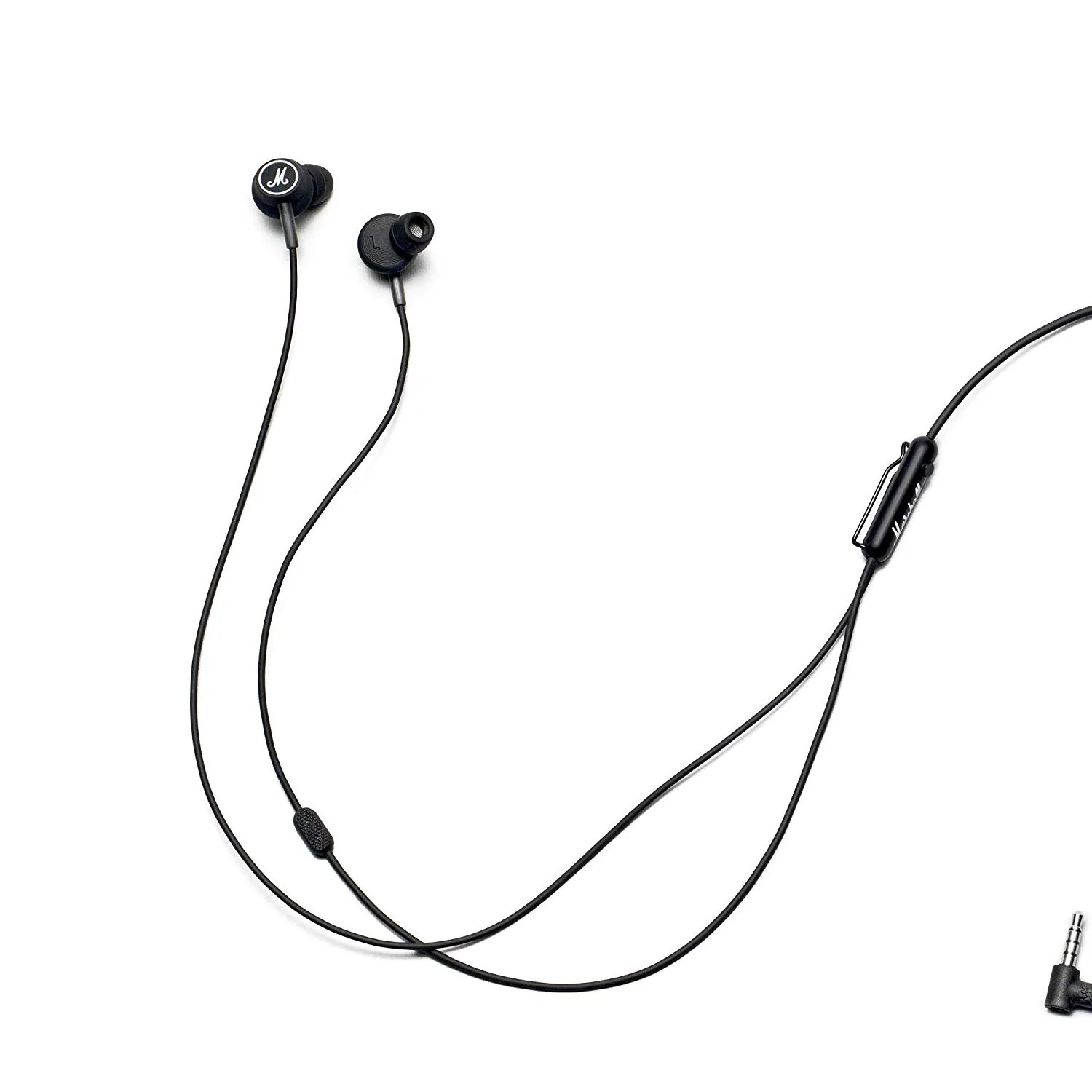 medium resolution of marshall wired earphone mode in ear