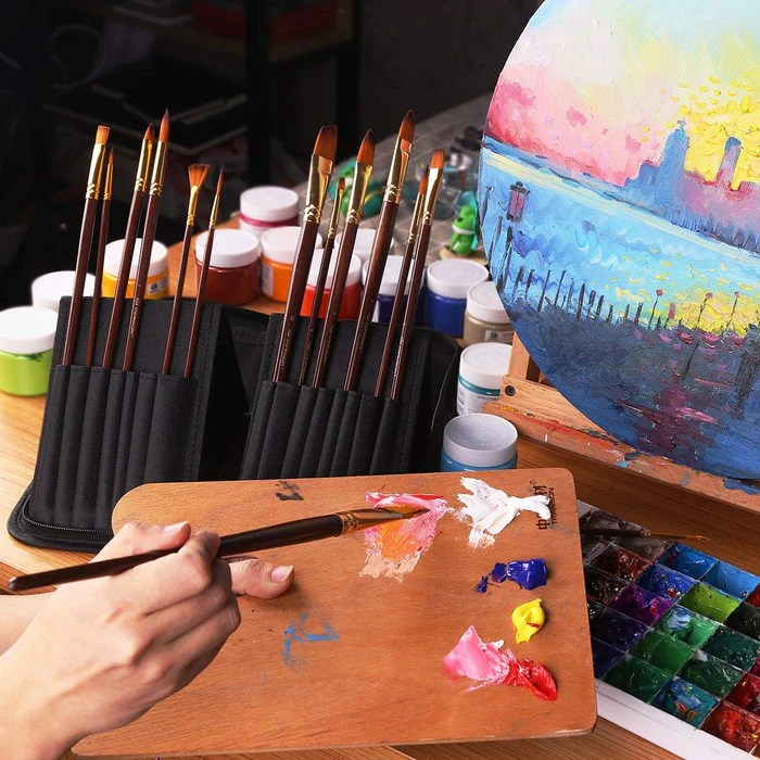 transon art paint brushes
