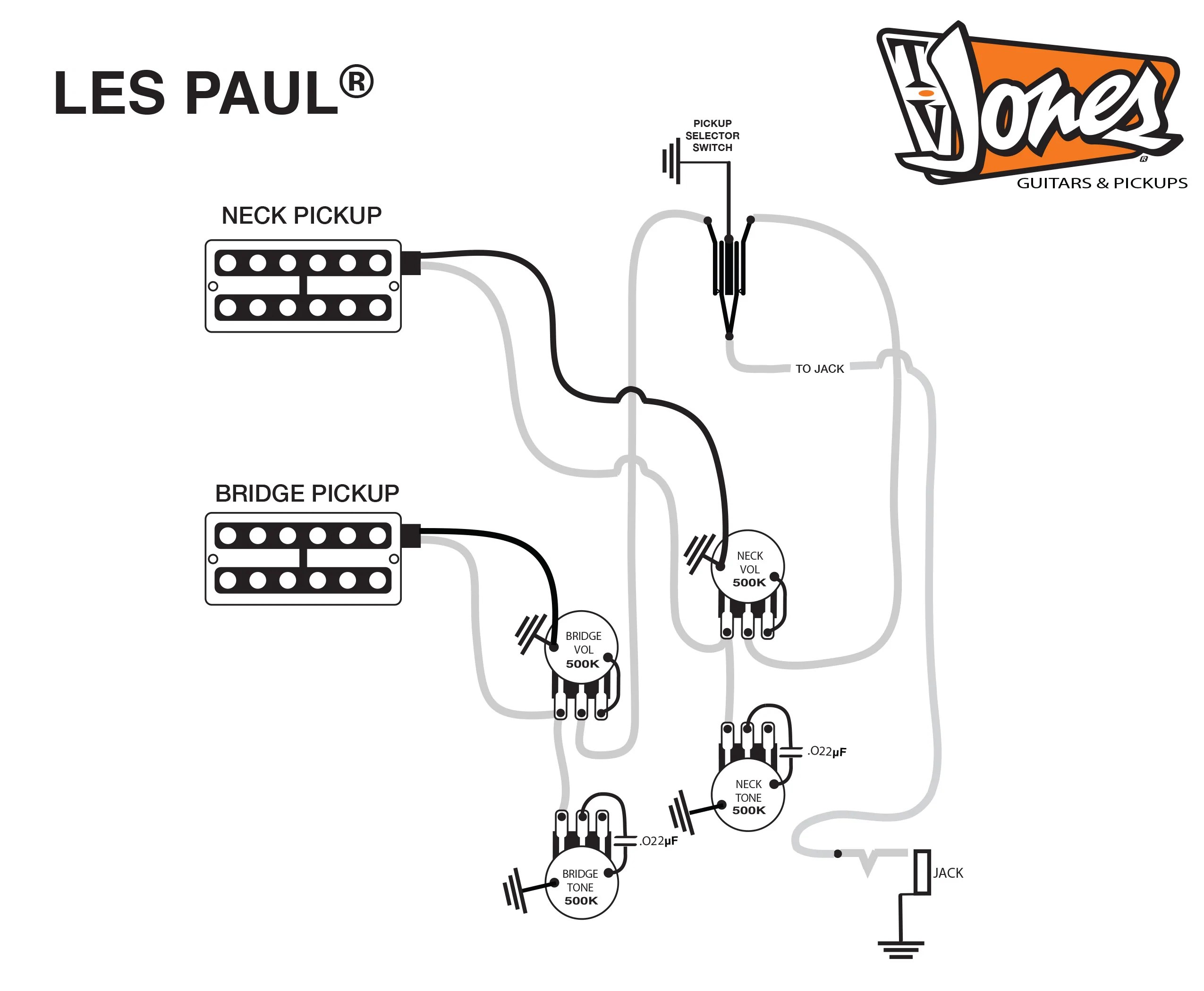 les paul wiring instructions