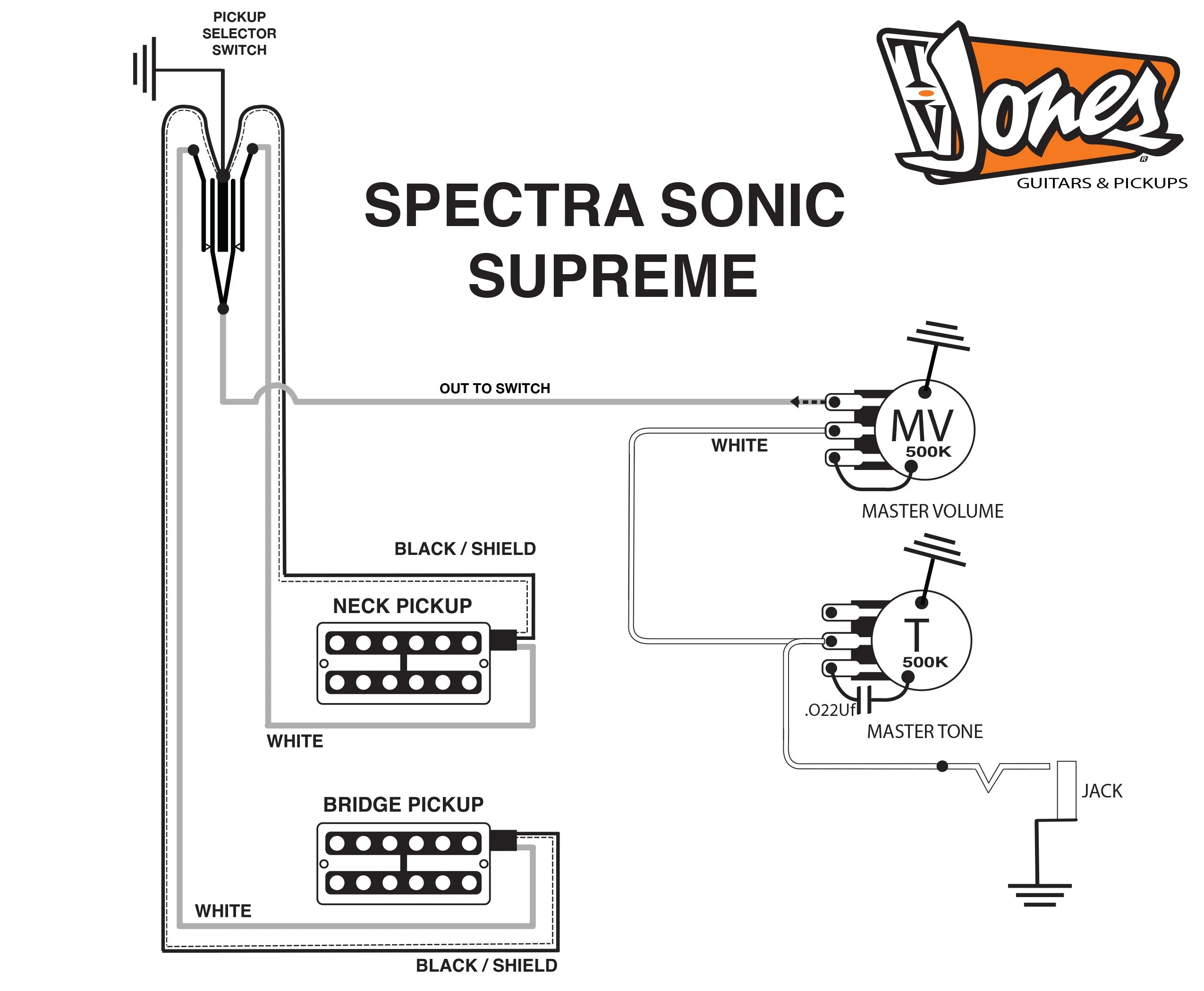 hight resolution of tv jones guitar schematics