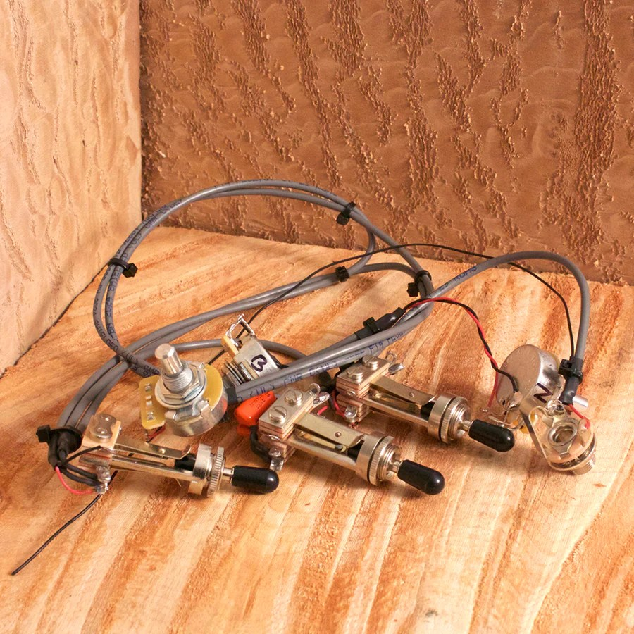 small resolution of stand by switch guitar wiring harness