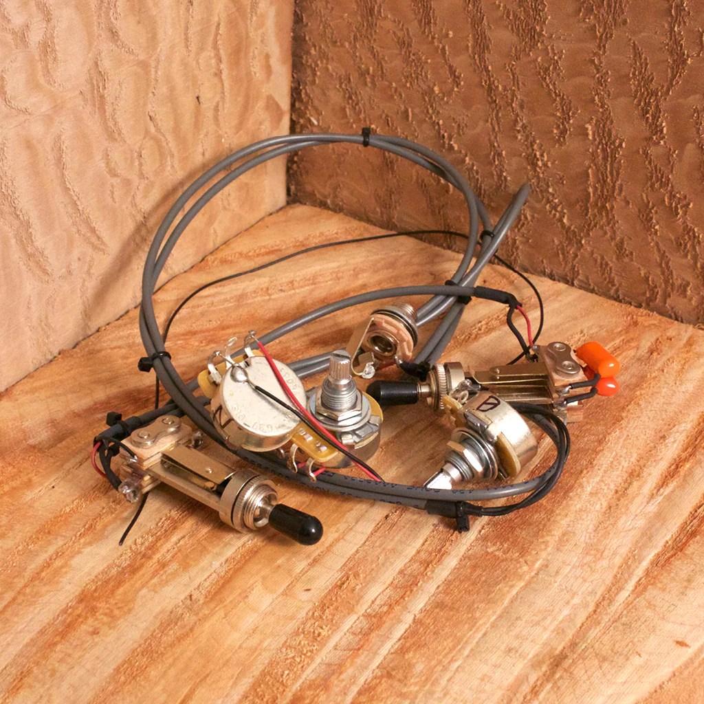 tone switch guitar wiring harness [ 1024 x 1024 Pixel ]