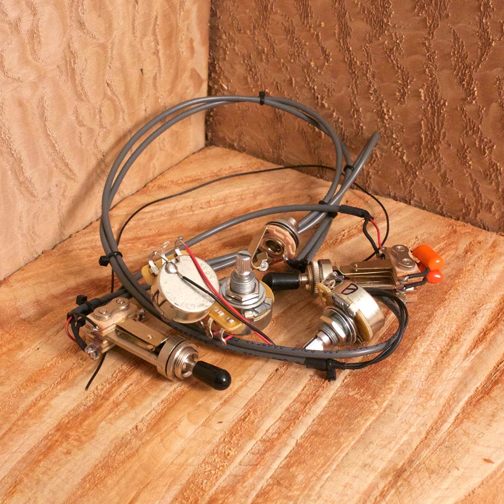 small resolution of tone switch guitar wiring harness