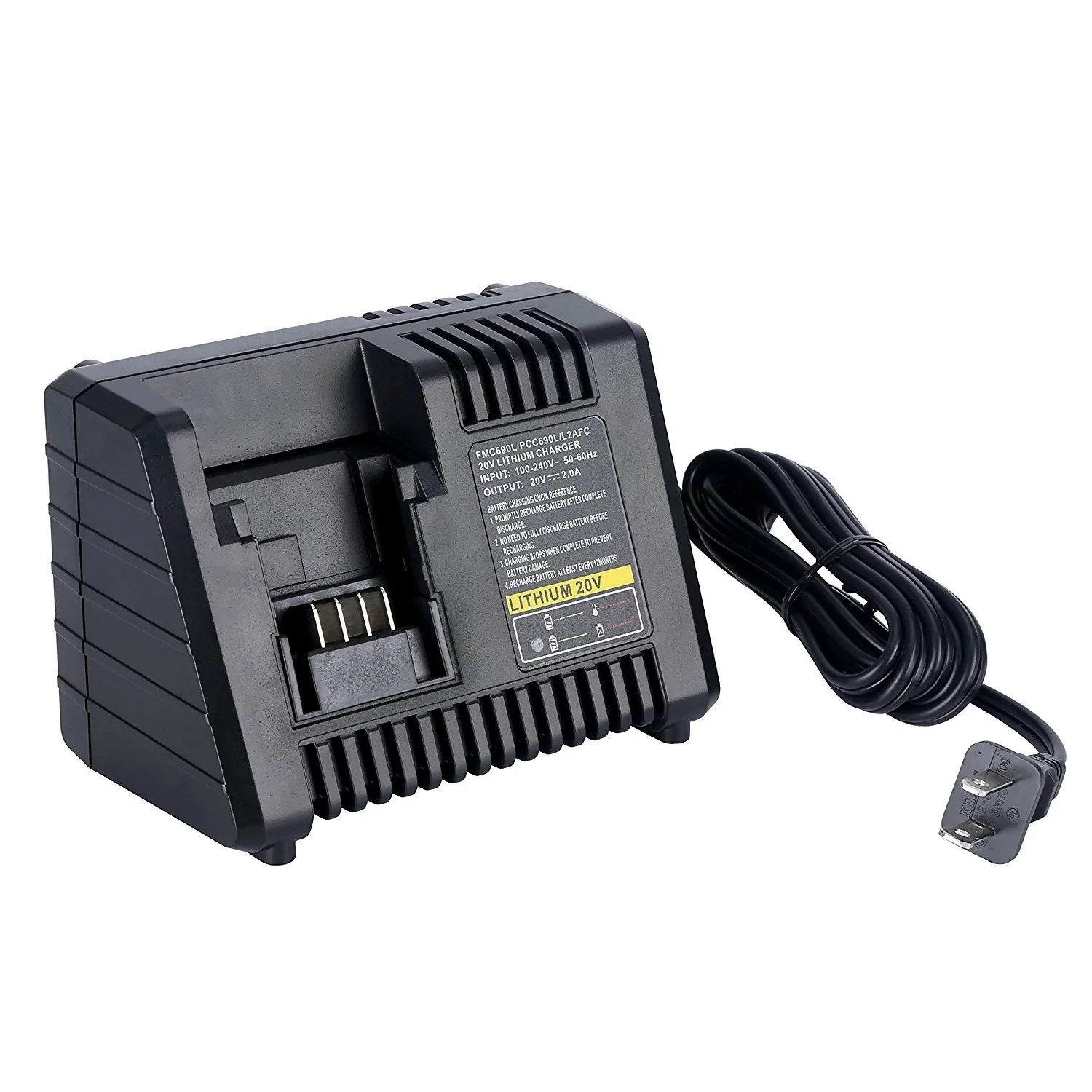 Porter Cable Lithium Battery Charger