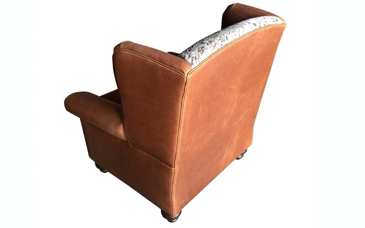 Oversized Wingback Chair Longhorn Oversized Wingback Chair