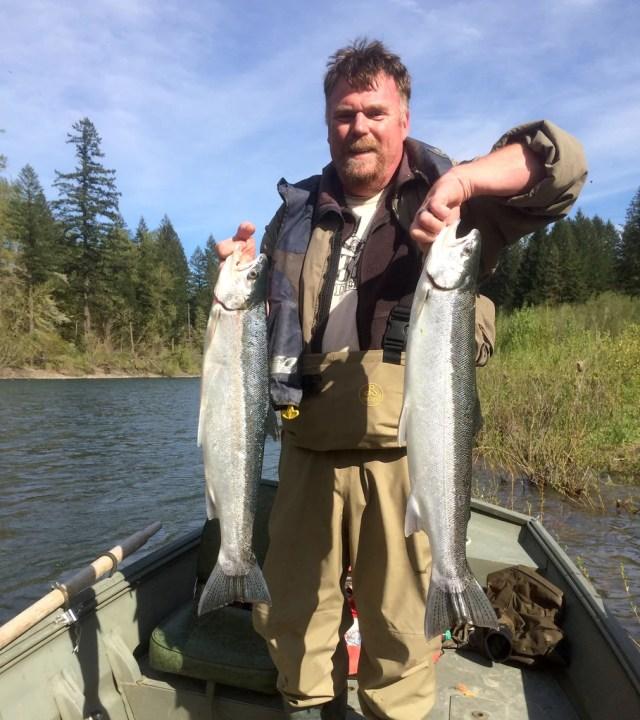 summer steelhead fishing fish trout clackamas oregon sandy river