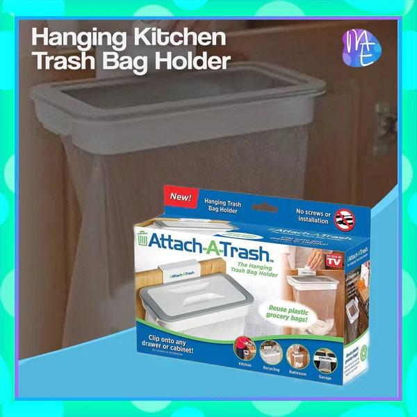 kitchen trash bags franke faucets hanging bag holder myshopping essentials