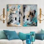 Gold Leaf Abstract Julia Apostolova