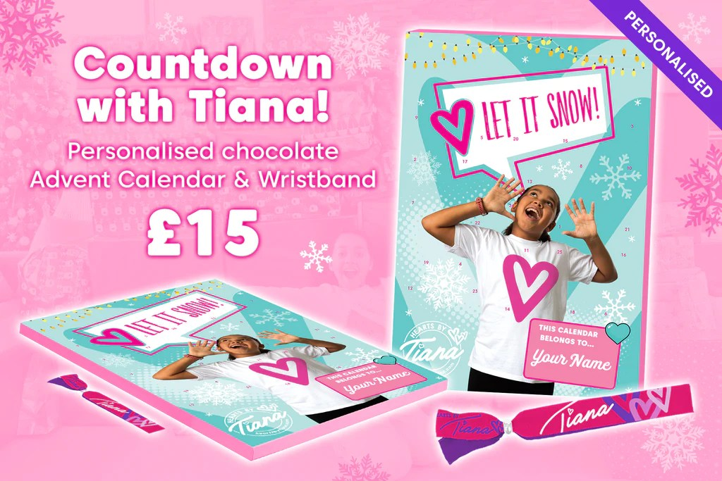 Hearts By Tiana The Only Official Merchandise For