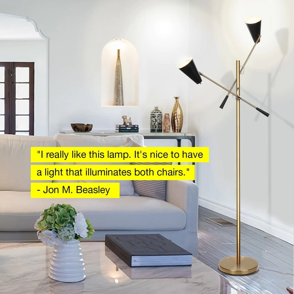 living room standing light pictures for walls australia ella led floor lamp with 2 heads