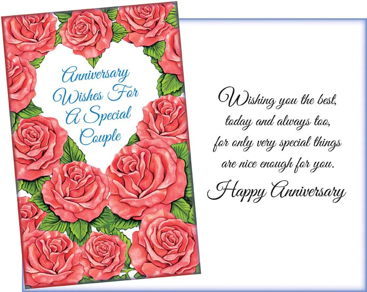 greeting card anniversary card