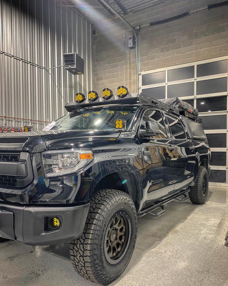 uptop overland alpha crewmax roof rack toyota tundra 2014 2021