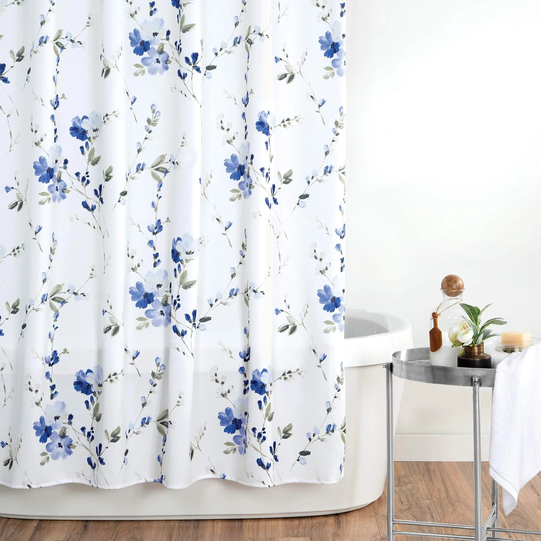 magnolia shower curtain croscill