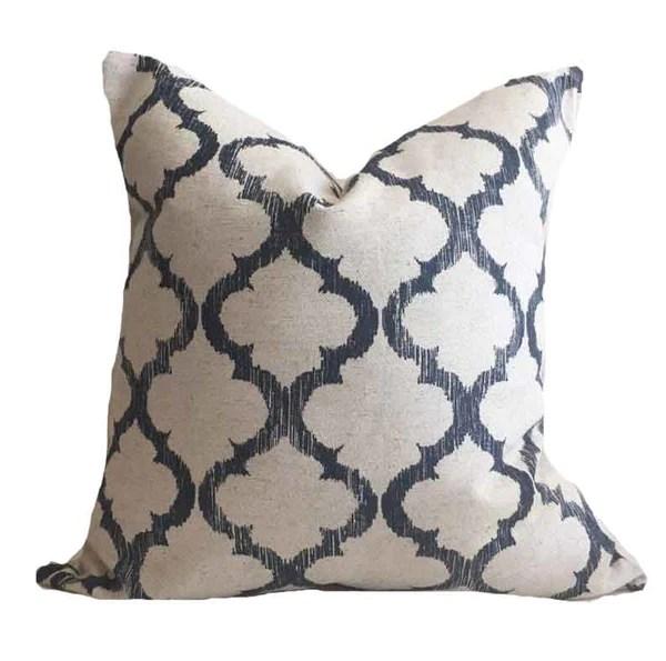 blue pillows studio pillows