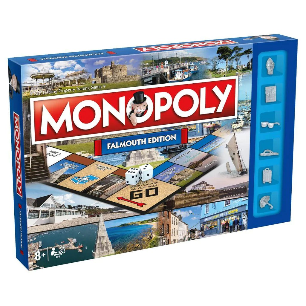 Falmouth Monopoly Winning Moves Uk