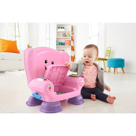 fisher price laugh and learn chair pink dining room table chairs smart stages daily market deals