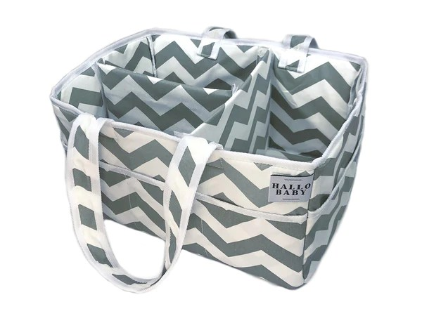Hallo Baby Diaper Caddy And Nursery Storage Bin Car