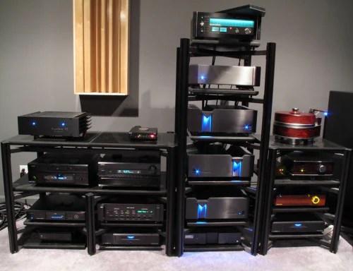 v receiver power specs aperion audio