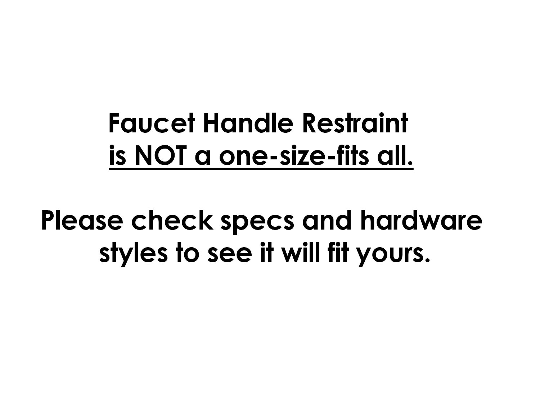 faucet handle restraint safeholmes