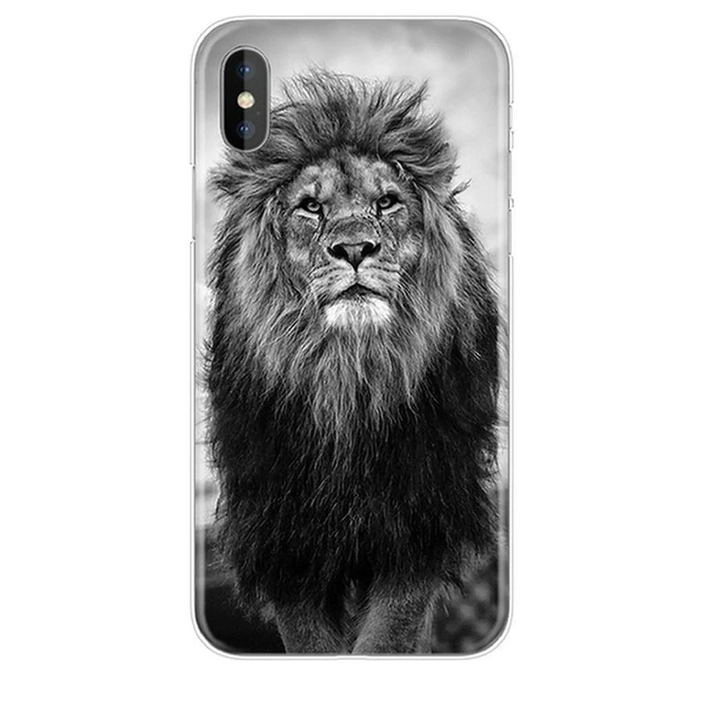iphone case black white