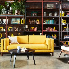 Small Living Room Sofa Color Velvet Settee Sofas 5 Daring Colors That Make Your Really Pop Apt2b