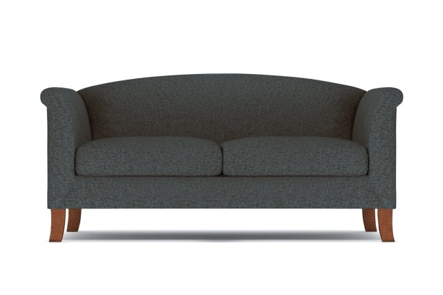 Albright Loveseat - Dark Grey -  Small Space Modern Couch Made in the USA - Sold by Apt2B