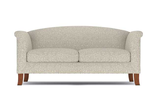 Albright Loveseat - Beige -  Small Space Modern Couch Made in the USA - Sold by Apt2B