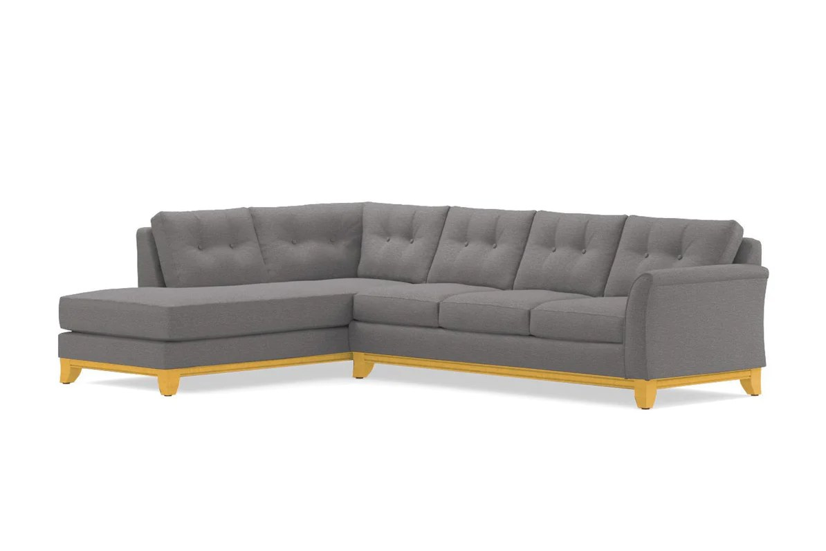 marco gray chaise sofa district san jose restaurants 2pc sectional choice of fabrics apt2b leg finish natural configuration laf
